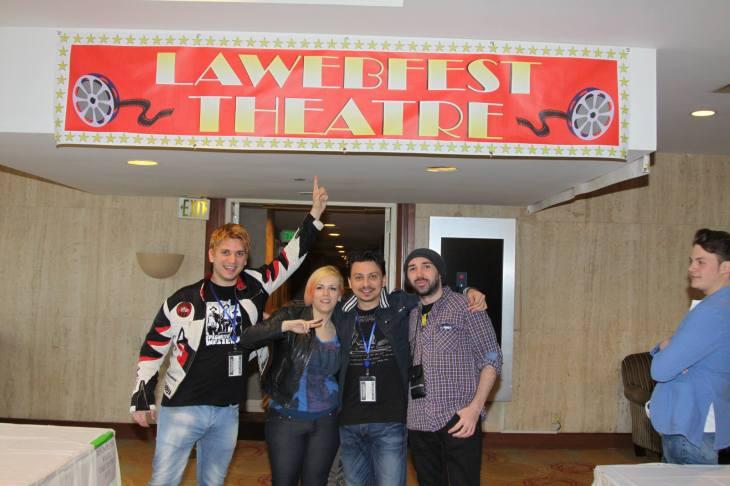 LawebfestTheater. outside shot.Nice