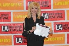 """TV star Loni Anderson of """"WKRP in Cincinnati"""" fame"""